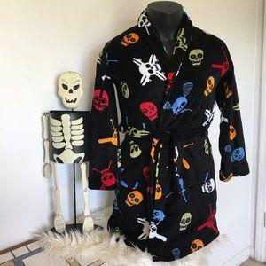 Komar Kids Fleece Skull Robe